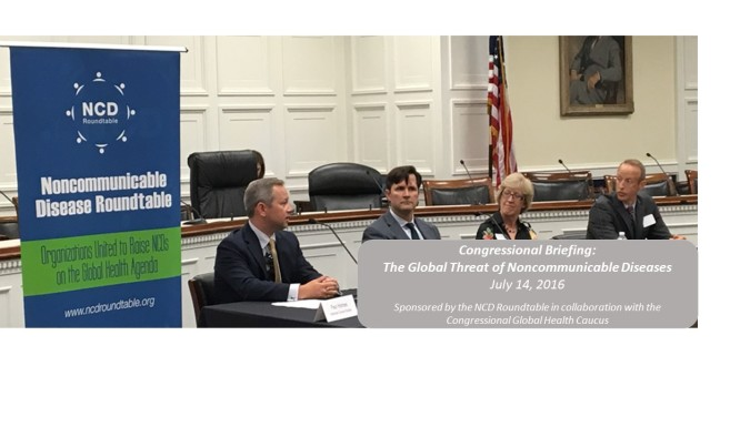 Congressional Briefing: The Global Threat of Noncommunicable Diseases
